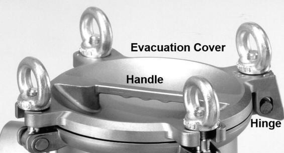 FLOWLINE evacuation cover design