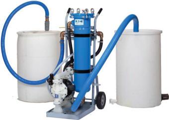 Portable machine tool coolant sump filter