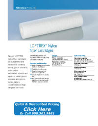 LOFTREX-N catalog pages