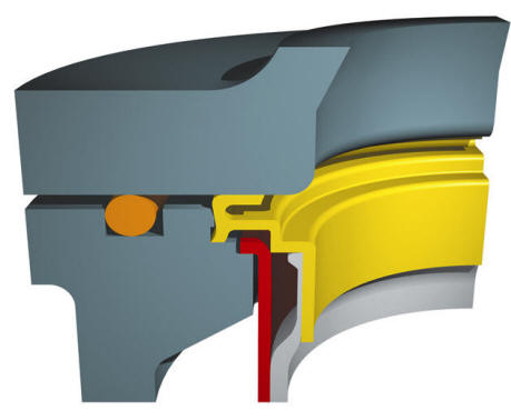 Eaton SENTINEL filter bag sealing ring