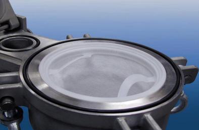 Inside the Eaton TOPLINE bag filter