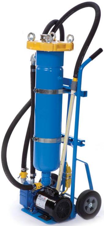 Flowash Bag Filter Cart